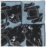 Valentino Garavani Valentino panther print scarf - women - Silk/Cashmere - One Size