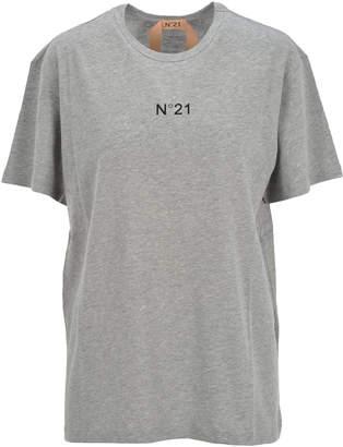 N°21 N.21 N21 Logo Print T-shirt