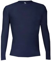 Badger Adult Pro-Compression Long Sleeve Crew - S