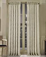 "J Queen New York Gemstone Sheer 50"" x 84"" Rod Pocket Curtain Panel"