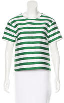 Kate Spade Striped Short Sleeve Top