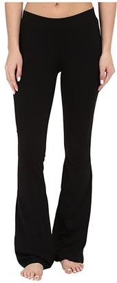 Pact Organic Cotton Lounge Pants (Black) Women's Casual Pants