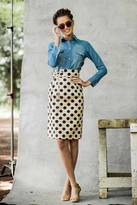 Shabby Apple Dot Skirt