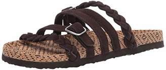 Muk Luks Women's Women's Terri Terra Turf-CHOCOLTE CHIP Sandal
