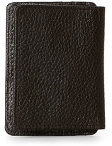 Cole Haan Chocolate Front-Flap Money Clip Wallet
