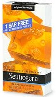 Neutrogena Transparent Facial Bar Bonus Pack, Original Formula 3 ea