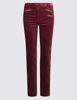 M&S Collection Modal Blend Corduroy Skinny Leg Trousers