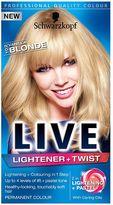 Schwarzkopf LIVE Lightener + Twist 102 Vanilla Blonde Hair Dye