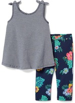 Old Navy Tunic-Tank & Cropped Leggings Set for Toddler Girls