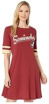 Champion College Florida State Seminoles Field Day Dress (Garnet/Vegas Gold) Women's Clothing