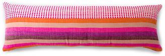 Bole Road Textiles Suri 12x36 Lumbar Pillow - Cerise