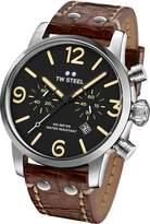 TW Steel Men's MS3 Maverick Analog Display Quartz Brown Watch