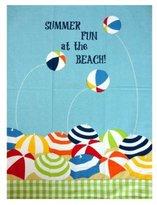"""Florida Gift Dishtowel - Summer Fun At the Beach - 28"""" X 18"""