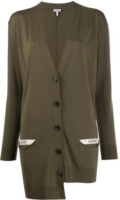 Loewe Oversized Asymmetric Cardigan