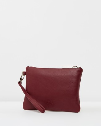Stitch & Hide - Women's Leather bags - Cassie Clutch - Size One Size at The Iconic