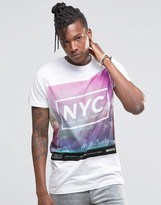 Pull&bear T-shirt With Nyc Print In White