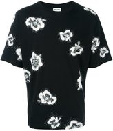 Saint Laurent flower print T-shirt