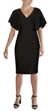 Kensie kenzie Cape-Sleeve Dress