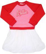 Billieblush Mesh & Stretch Tulle Dress