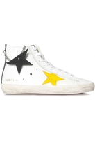 Golden Goose Deluxe Brand Sneakers Francy White Leather Foam Charms