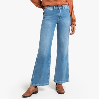 Pepe Jeans Maria Cotton Wide Leg Jeans