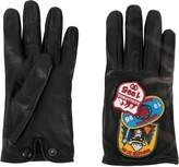 DSQUARED2 patch appliqué gloves