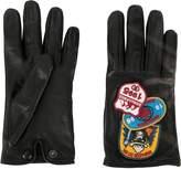 DSQUARED2 patch appliqué gloves