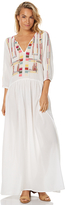 Tigerlily Parami Womens Tunic Maxi Dress White