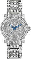 Wittnauer Womens Crystal-Accent Stainless Steel Bracelet Watch WN4003
