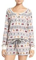 PJ Salvage Women's Thermal Pajamas