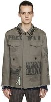 Etro Embellished Cotton Canvas Field Jacket
