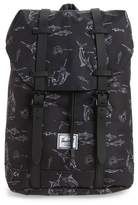 Herschel Retreat Fish Print Backpack