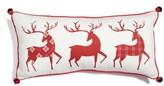 Levtex Three Reindeer Accent Pillow