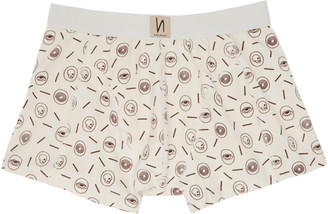 Nudie Jeans Off-White Icons Boxer Briefs
