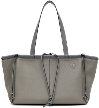 Loewe Grey Small Cushion Tote