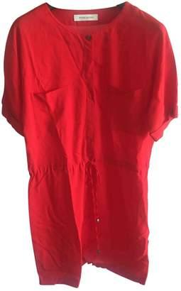 Pierre Balmain \N Red Cotton Dress for Women