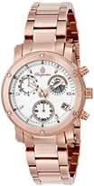 Burgmeister Women's BM524-318 Analog Display Analog Quartz Rose Gold Watch