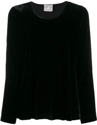 Forte Forte long sleeved velvet blouse