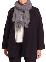 Eileen Fisher Wool Blend Scarf