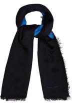 Bottega Veneta Bi-colour wool scarf