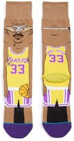 Stance Men's Nba Legends Kareem Abdul-Jabbar Crew Socks