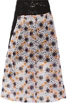Michael Van Der Ham Kate macramé lace skirt