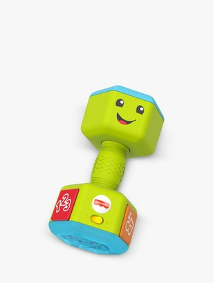 Fisher-Price Laugh & Learn Countin' Reps Dumbbells