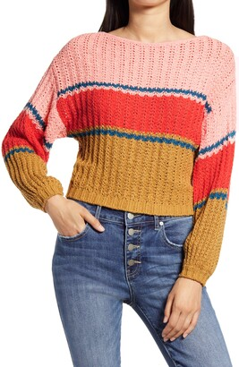 Billabong Washed Out Stripe Sweater