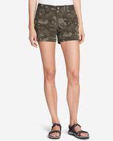 Eddie Bauer Women's Horizon Cargo Shorts - Print
