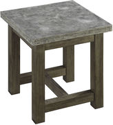 Asstd National Brand Austin Concrete End Table