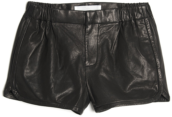 Thakoon Leather Gym Short