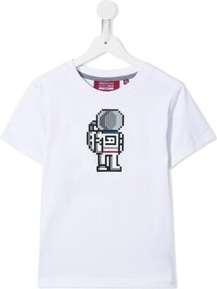 Mostly Heard Rarely Seen 8-Bit astronaut T-shirt