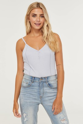 Ardene Ribbed Crop Tank Top