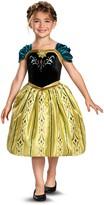 Disguise Frozen Anna Coronation Gown Classic Costume (Big Girls)